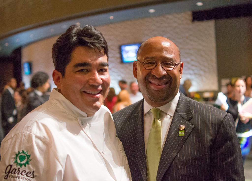 Garces with Mayor Michael Nutter at the 2013 Garces Foundation Gala