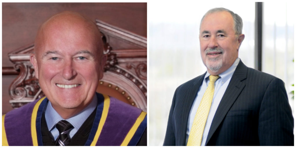 Pa. Supreme Court Justices Seamus McCaffery and Michael Eakin became embroiled in the state's porny email scandal in 2015.