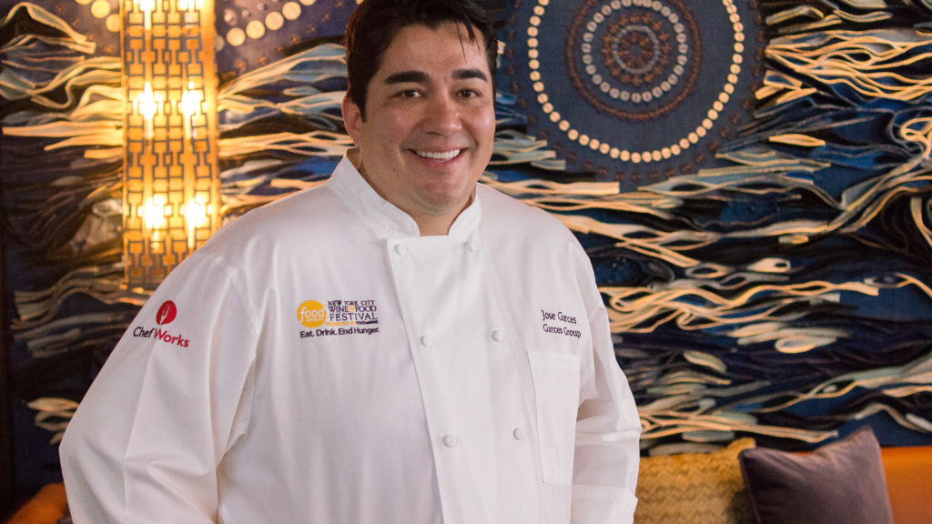 Jose Garces at Bar Volvér
