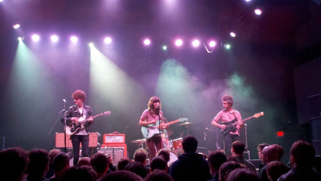 Eleanor Friedberger plays Union Transfer in October 2011. Under a new bill, shows at venues that hold 50 people or more could be subject to de facto veto by police