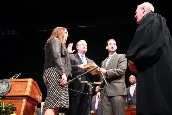 Jim Kenney is sworn in as the 99th mayor of Philadelphia.