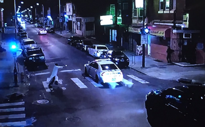 Surveillance video of West Philly cop shooting incident released by police