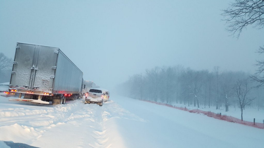 Stranded travelers spent more than a day on the PA Turnpike over the weekend.