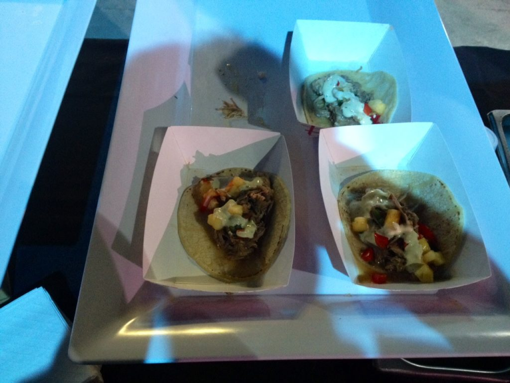 Al pastor tacos from Taco Mondo