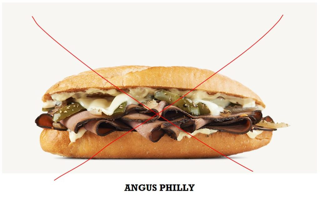 Sorry, Arby's, but no
