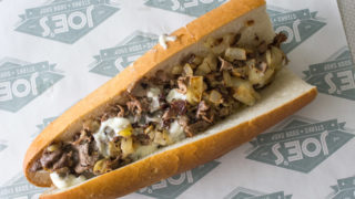 Joe's Steaks will sell cheesesteaks on the Parkway during the NFL Draft