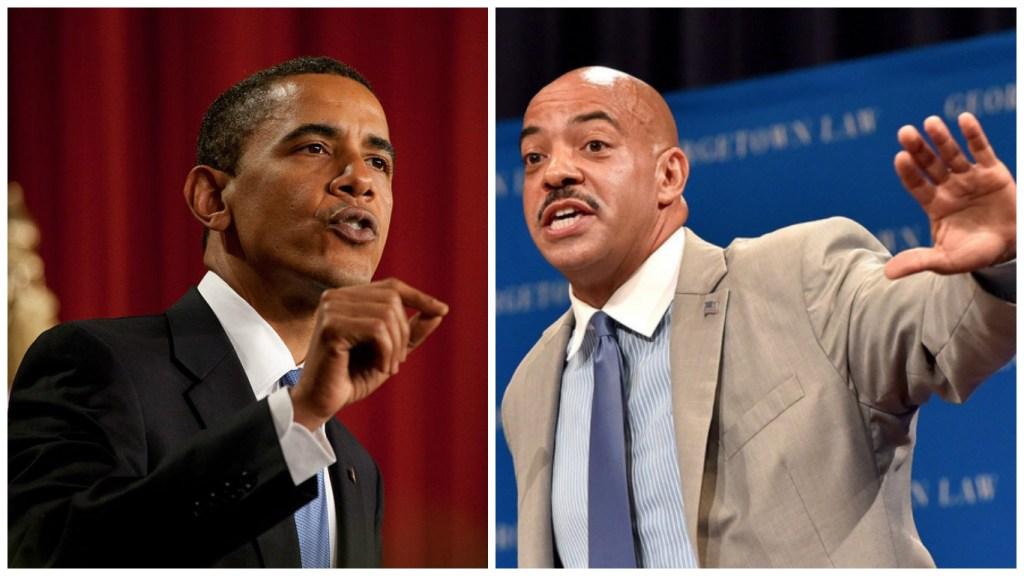 President Obama and Philadelphia DA Seth Williams