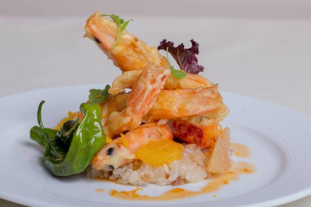 SUGA's Mandarin crispy shrimp