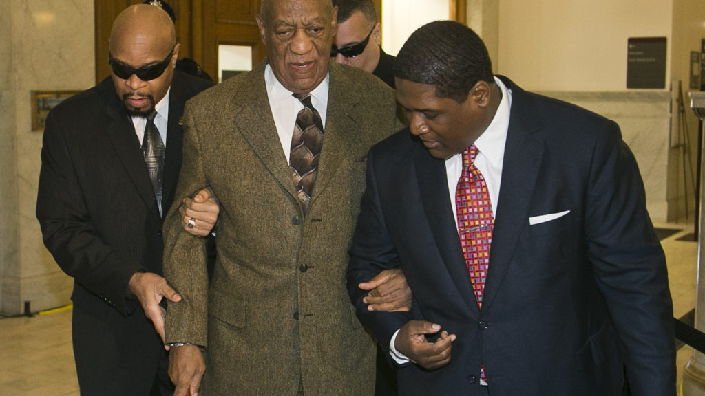 Actor Bill Cosby arrives at Montgomery County Courthouse in Norristown, Pennsylvania for hearing on Tuesday. Cosby is accused of alleged sexual assault.