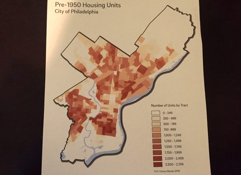 Where Philly homes were built pre-1950 and are most likely to have lead service lines.