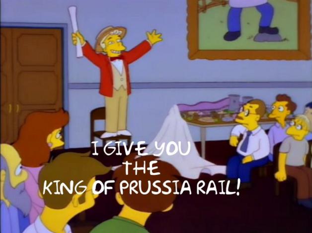 King of Prussia Rail