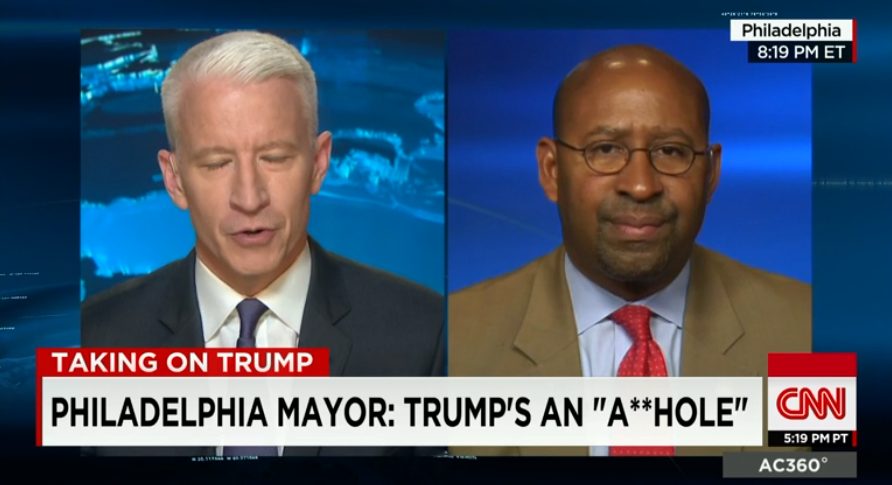 Now that Michael Nutter is a former Mayor he has become an official talking head on CNN.