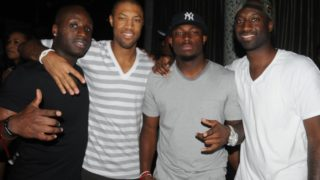 LeSean McCoy and friends at Recess last year.