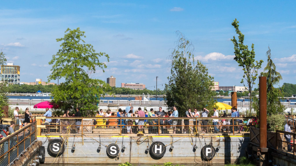 The success of pop-up beer gardens like the Spruce Street Harbor Park led the City of Philadelphia to jump into the game