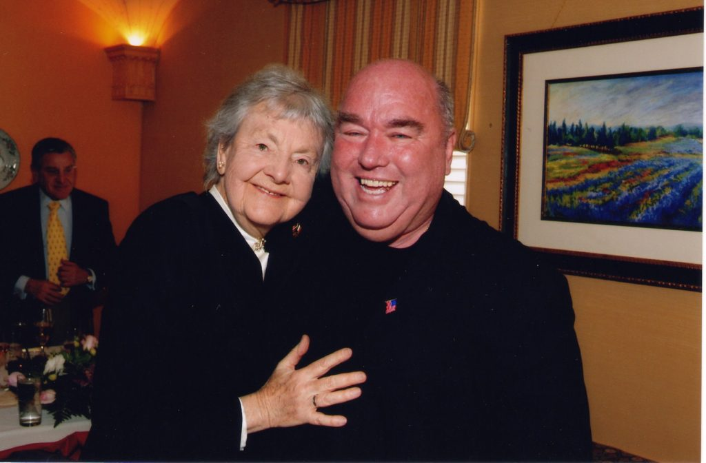 Audrey Evans and Jimmy Murray, 2014