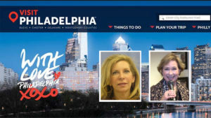Left: Former Visit Philadelphia CFO Joyce Levit Right: Visit Philadelphia CEO Meryl Levitz