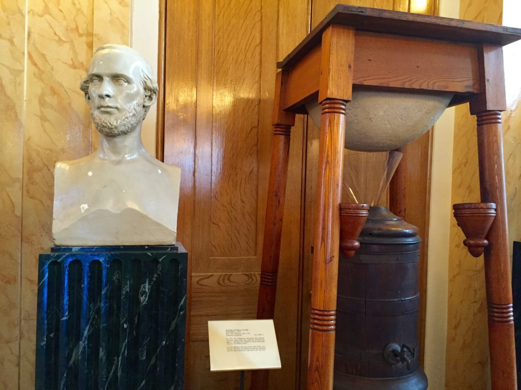 One of the items collected at The Athenaeum: An early water filtration system.