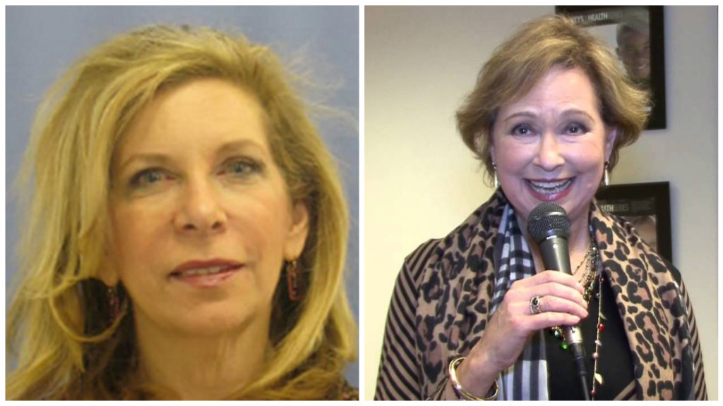 Left: Joyce Levitt Right: Meryl Levitz