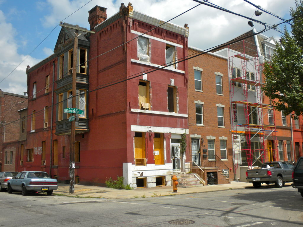 18th and Montgomery Streets in North Philadelphia