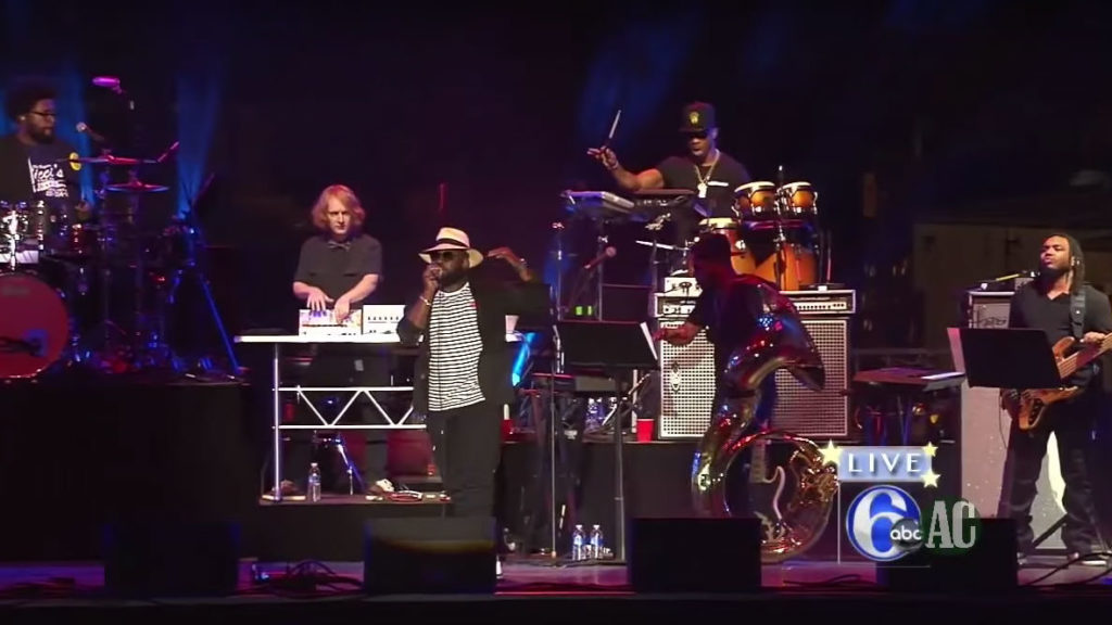 The Roots at Welcome America on July 4, 2015
