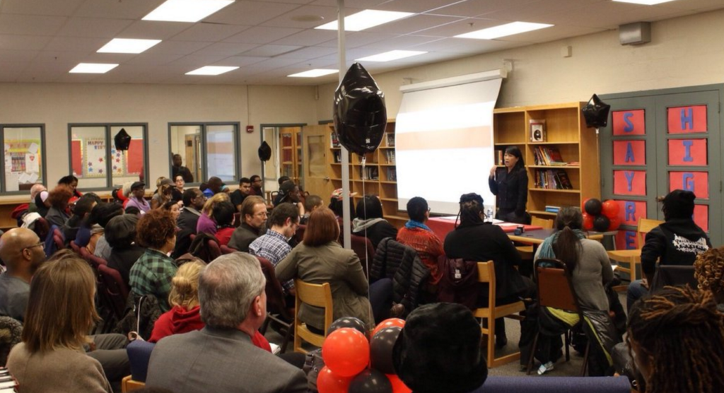 City Council members held a town hall to discuss potential changes to the education system.