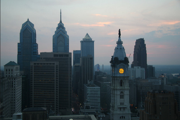 Philly Philadelphia skyline