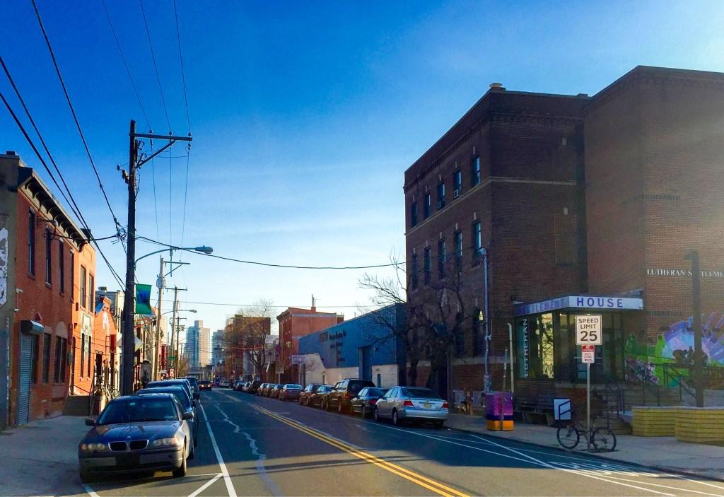 Frankford Avenue in Fishtown