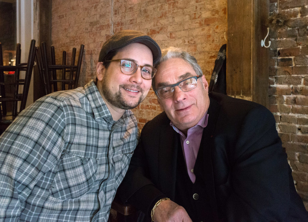 Franco and good friend and mentor chef Georges Perrier