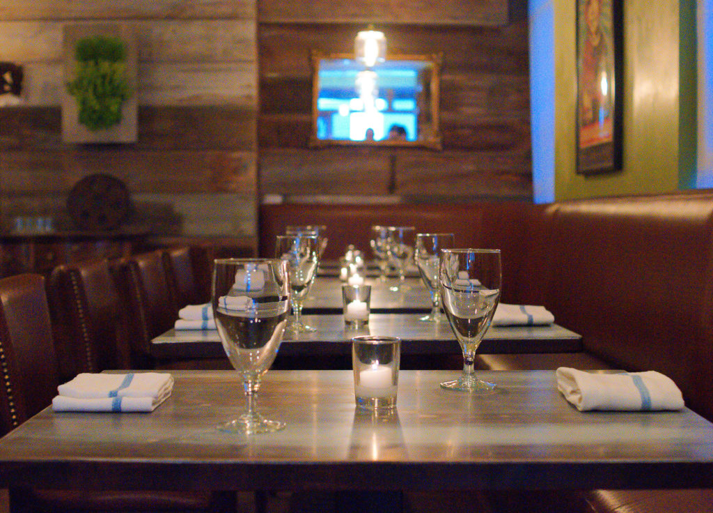 The dining room at Crow and the Pitcher isn't fancy, but the service is informed by years of experience