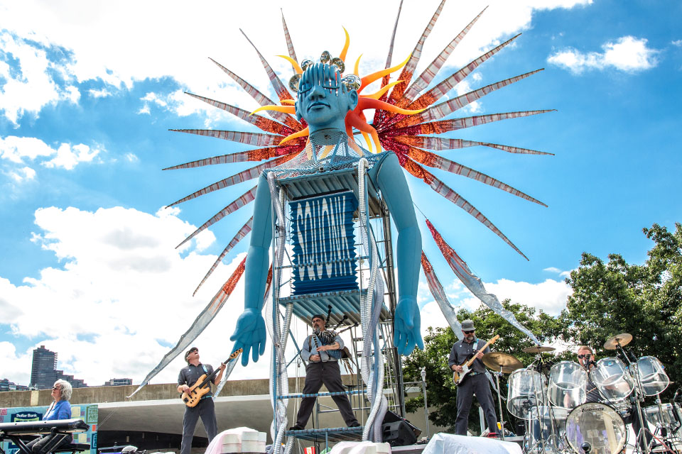 Pittsburgh's Squonk Opera will play during the PIFA street festival this year