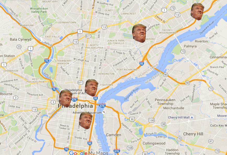 trump map