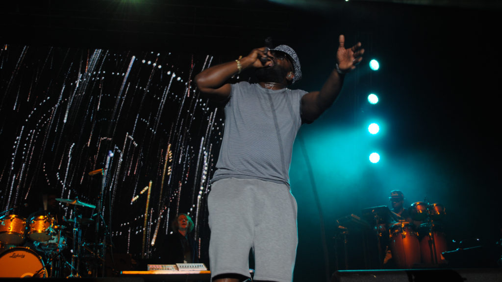 Black Thought of the Roots on the mic at last year's picnic.