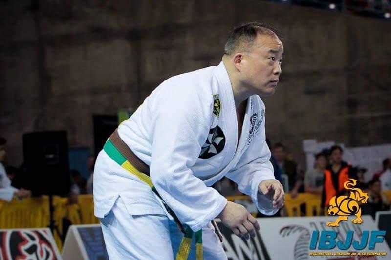 Councilman David Oh practices Brazilian Jiu-Jitsu, a form of martial arts.
