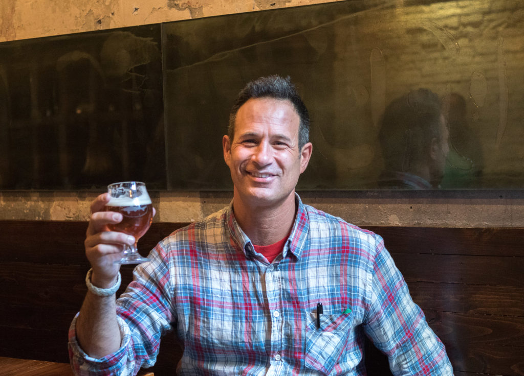 Sam Calagione of Dogfish Head Craft Brewing at Tria Taproom in March 2016