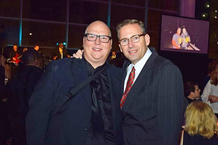 Dillon and husband Mike Toub