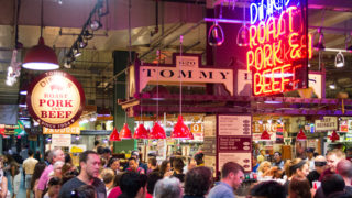 Inside Reading Terminal Market