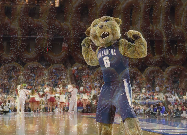If the Tarheels somehow manage to beat 'Nova in the tournament, we owe our counterparts in Charlotte a case of pretzels.