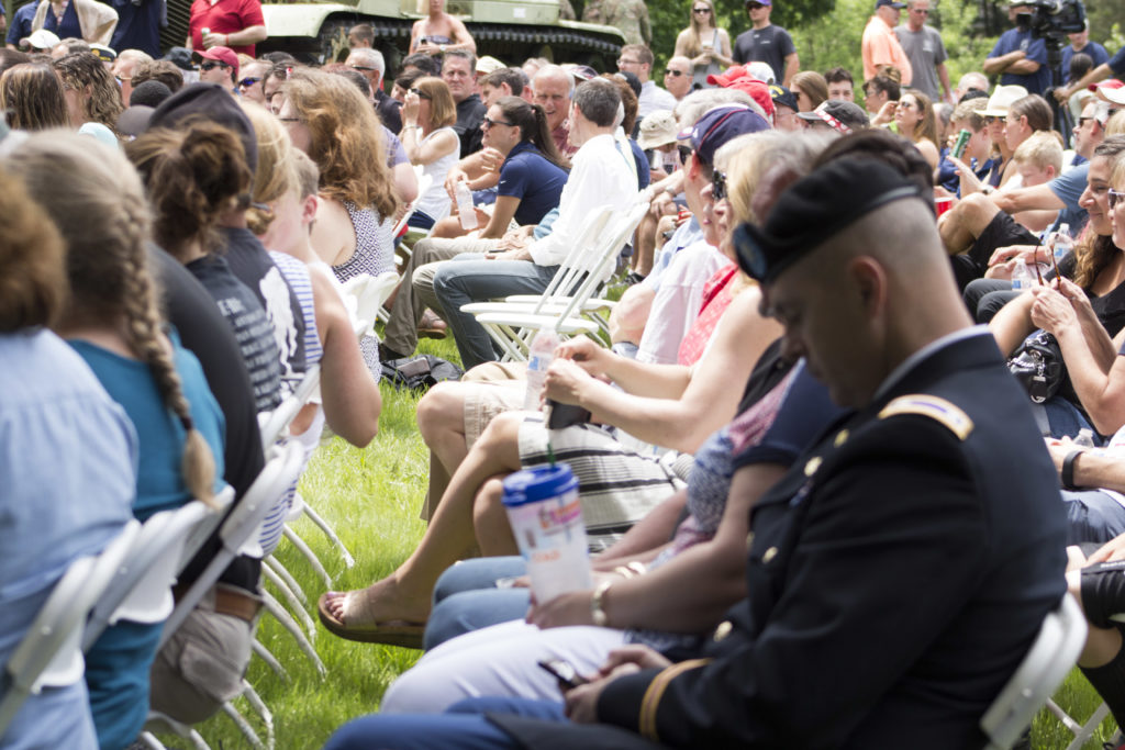 There was a full crowd at the 2016 Memorial Day Event in Fort Washington that was hosted by the American Legion Post #10 and Power Home Remodeling.