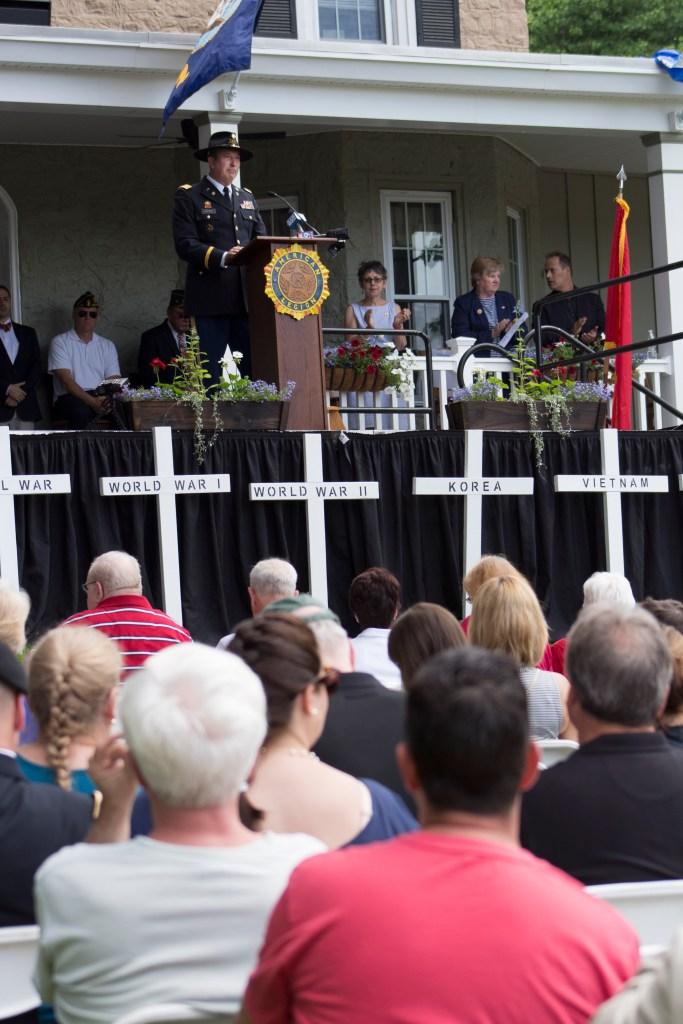 Post #10 Commander Harry J. Gobora gave welcoming remarks.