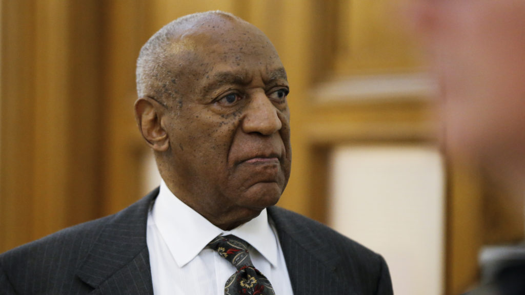 Bill Cosby departs the Montgomery County Courthouse after a preliminary hearing, Tuesday, May 24, 2016, in Norristown, Pa. Cosby was ordered to stand trial on sexual assault charges after a hearing that hinged on a decade-old police report.