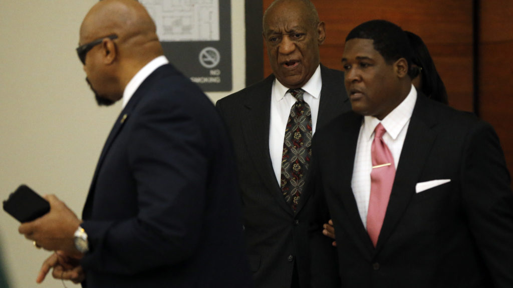 Bill Cosby arrives at the Montgomery County Courthouse for a preliminary hearing, Tuesday, May 24, 2016, in Norristown, Pa. Cosby is accused of drugging and molesting a woman at his home in 2004.