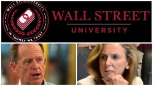 Wall Street University McGinty Toomey
