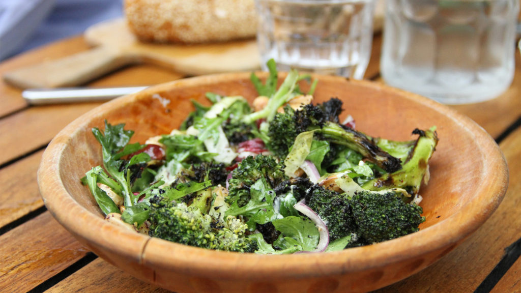High Street on Market's grilled broccoli salad