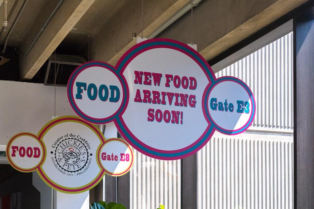 At PHL, new food is always arriving soon