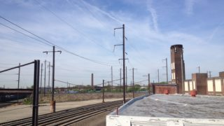 Amtrak tracks in Frankford