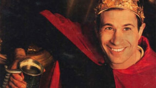 Dogfish Head founder Sam Calagione as 'King Midas' in 2001