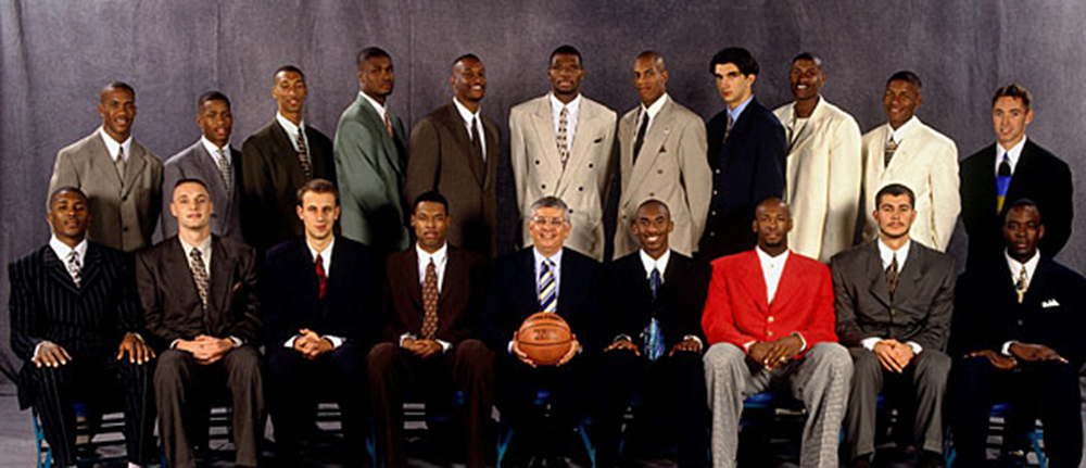 the nba draft and the year the nets on bryant