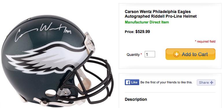 Wentz-helmet