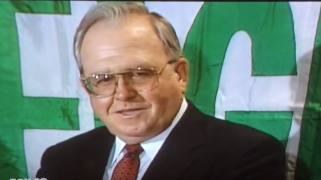 Buddy Ryan enjoyed answering questions after Bounty Bowl.