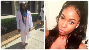 Left: Akyra Murray, 18, was killed in the shooting in Orlando. Right: Patience Carter, a Fox29 intern, was injured in the shooting rampage.